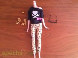 NOVÉ! Set pro panenku Barbie, halenka + kalhoty + boty + brýle + ramínko , Pro děti, Hračky    spěcháto.cz - bazar, inzerce zdarma