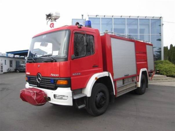 Atego 1225 4x4 Hasičský, foto 1 Užitkové a nákladní vozy, Nad 7,5 t | spěcháto.cz - bazar, inzerce zdarma
