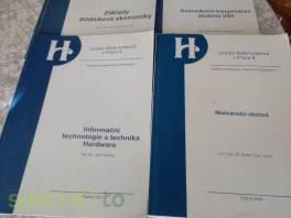 4x skripta na Vysokou školu , Hobby, volný čas, Knihy  | spěcháto.cz - bazar, inzerce zdarma