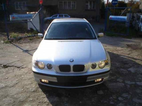 BMW Řada 3 2,0 2,0TD,COMPACT,D.KLIMA,ALU, foto 1 Auto – moto , Automobily | spěcháto.cz - bazar, inzerce zdarma