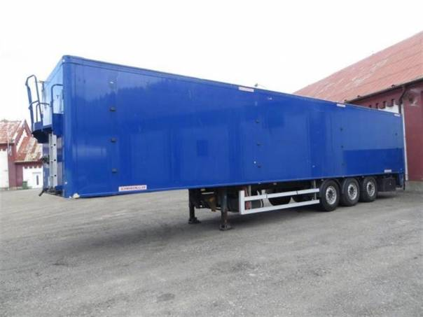SPA 3/E - posuvná podlaha, foto 1 Užitkové a nákladní vozy, Přívěsy a návěsy | spěcháto.cz - bazar, inzerce zdarma