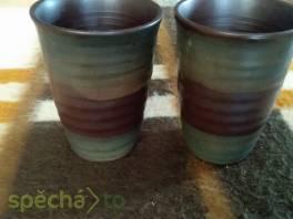 Dva staré keramické poháry , Hobby, volný čas, Sběratelství a starožitnosti  | spěcháto.cz - bazar, inzerce zdarma