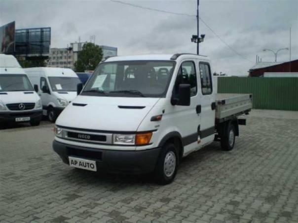 Iveco Daily 35S13 DVOJKABINA VALNÍK 2.8TD, foto 1 Užitkové a nákladní vozy, Do 7,5 t | spěcháto.cz - bazar, inzerce zdarma