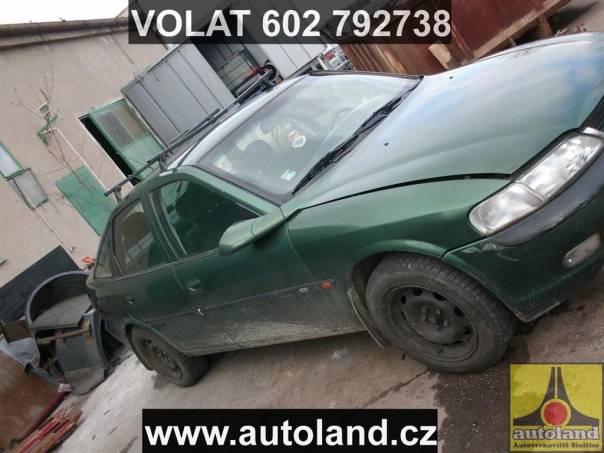 Opel Vectra 2,0, foto 1 Náhradní díly a příslušenství, Ostatní | spěcháto.cz - bazar, inzerce zdarma