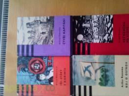 Knihy z edice odvahy a dobrodružství , Hobby, volný čas, Knihy  | spěcháto.cz - bazar, inzerce zdarma
