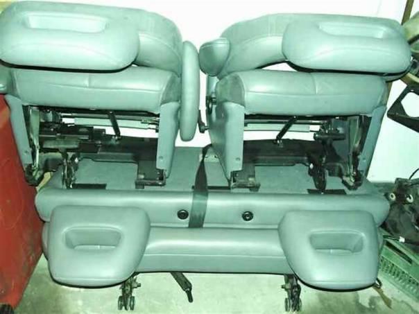 Chrysler Grand Voyager Sedadla - kůže set top, foto 1 Náhradní díly a příslušenství, Osobní vozy | spěcháto.cz - bazar, inzerce zdarma