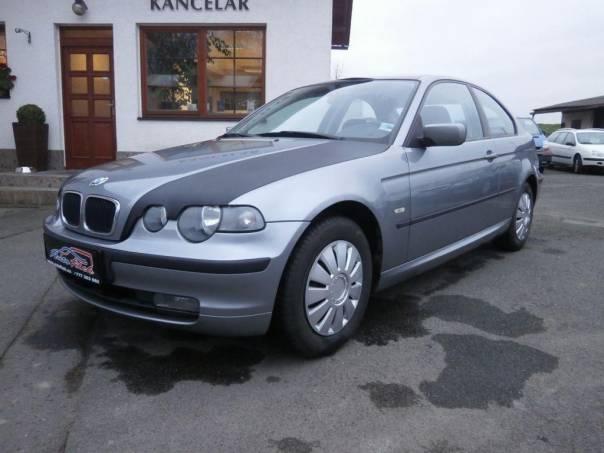 BMW Řada 3 316 ti aut.klima, foto 1 Auto – moto , Automobily | spěcháto.cz - bazar, inzerce zdarma