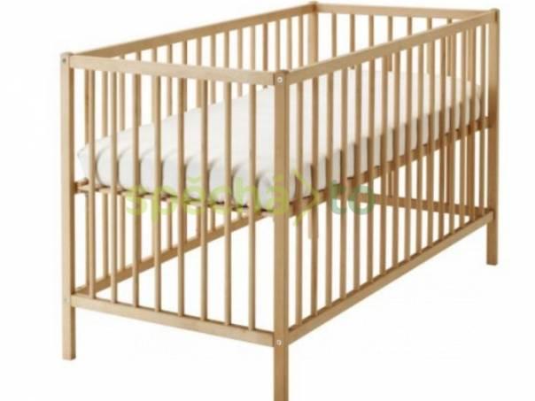 Dětská postýlka s pružinovou matrací zn. IKEA, foto 1 Pro děti, Dětský nábytek | spěcháto.cz - bazar, inzerce zdarma