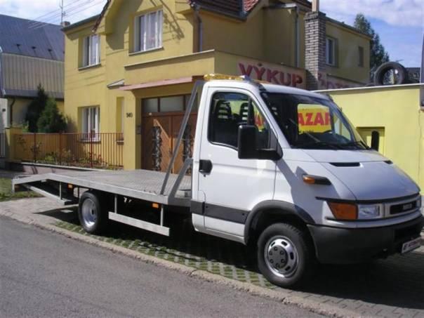 Iveco Daily 50C13  DO 3,5T  ODTAHOVKA  2,8, foto 1 Užitkové a nákladní vozy, Do 7,5 t | spěcháto.cz - bazar, inzerce zdarma