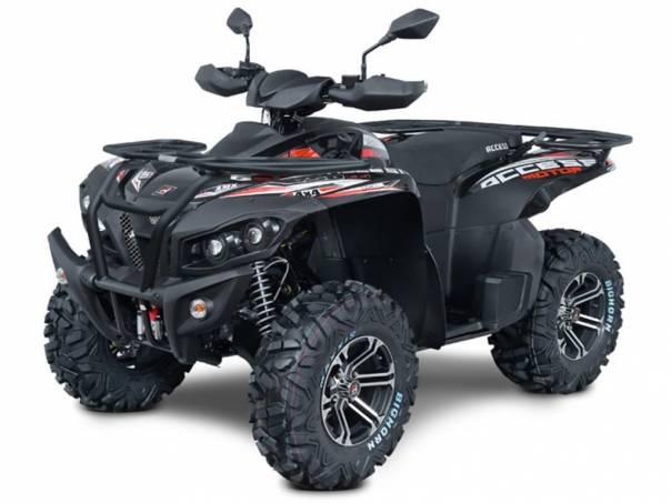 Access Motor  MAX 750i FOREST 4x4 SPZ black, foto 1 Auto – moto , Motocykly a čtyřkolky | spěcháto.cz - bazar, inzerce zdarma