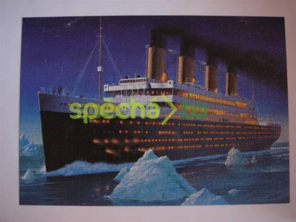 Puzzle Titanic 1000 dílků, foto 1 Hobby, volný čas, Společenské hry | spěcháto.cz - bazar, inzerce zdarma