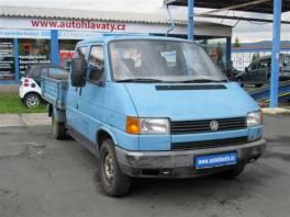 Volkswagen Transporter 1.9 D valník - dvojkabina , Užitkové a nákladní vozy, Do 7,5 t    spěcháto.cz - bazar, inzerce zdarma