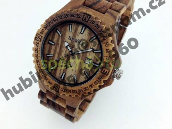 Luxusní nové dřevěné hodinky - dárek  d188acd515f