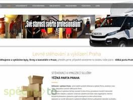 Stěhování a vyklízení bytů a firem Praha , Obchod a služby, Přeprava, stěhování  | spěcháto.cz - bazar, inzerce zdarma