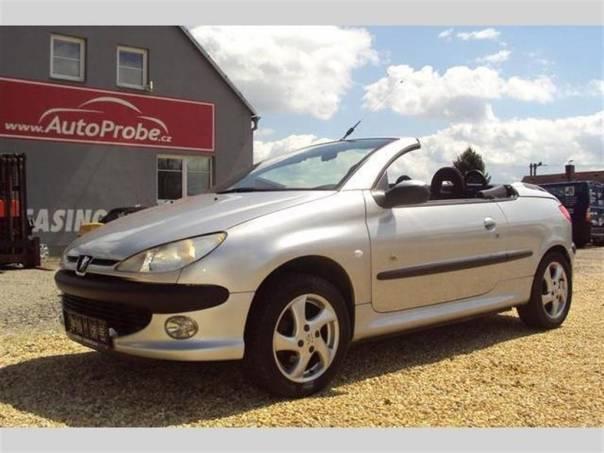 Peugeot 206 CC 1.6i, foto 1 Auto – moto , Automobily | spěcháto.cz - bazar, inzerce zdarma