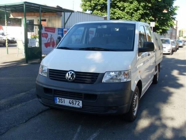Volkswagen Transporter 1.9 TDi DoubleCab Sklápěč, foto 1 Užitkové a nákladní vozy, Do 7,5 t | spěcháto.cz - bazar, inzerce zdarma