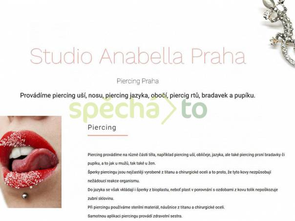 Piercing pupíku, bradavek Praha, foto 1 Kosmetika, Péče o tělo | spěcháto.cz - bazar, inzerce zdarma