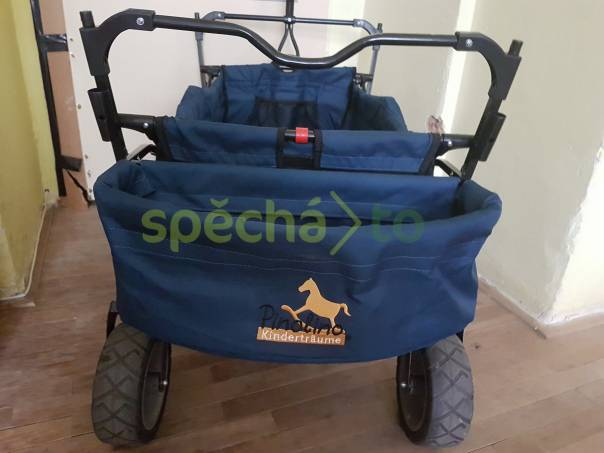 Dětský vozík PINOLIO Kinderträume , foto 1 Pro děti, Kočárky, nosítka, odrážedla   spěcháto.cz - bazar, inzerce zdarma