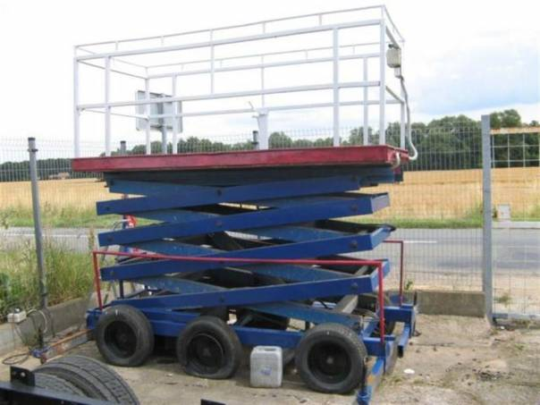 Saxi 8-U pracovní plošina, foto 1 Pracovní a zemědělské stroje, Vysokozdvižné vozíky | spěcháto.cz - bazar, inzerce zdarma