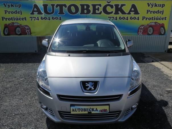 Peugeot 5008 1,6 HDI 82 kW Automat, foto 1 Auto – moto , Automobily | spěcháto.cz - bazar, inzerce zdarma