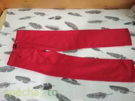 Dívčí červené rifle zn. H&M , Pro děti, Dětské oblečení   | spěcháto.cz - bazar, inzerce zdarma