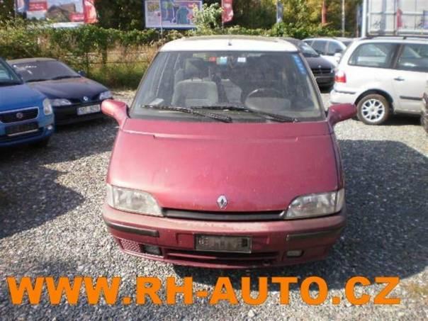 Renault Espace 2,0 i MAX VÝBAVA!!, foto 1 Auto – moto , Automobily | spěcháto.cz - bazar, inzerce zdarma