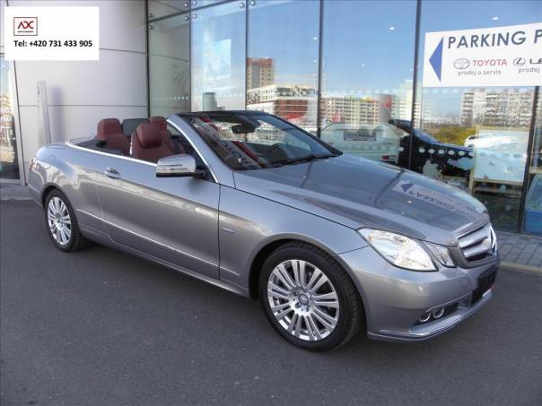 Mercedes-Benz Třída E 2,2   E CABRIO 250 CDI AVANTGARDE, foto 1 Auto – moto , Automobily | spěcháto.cz - bazar, inzerce zdarma