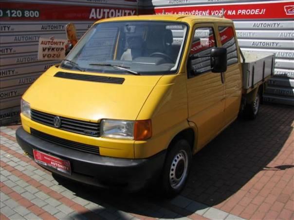 Volkswagen Transporter 2,5 D, 6 míst, foto 1 Užitkové a nákladní vozy, Do 7,5 t | spěcháto.cz - bazar, inzerce zdarma