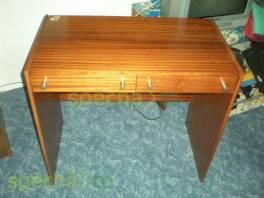 Psací stůl lakovaný 80x72x45cm