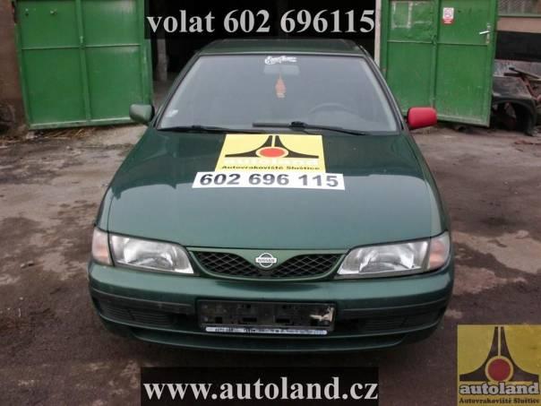 Nissan Almera 1,4, foto 1 Náhradní díly a příslušenství, Ostatní | spěcháto.cz - bazar, inzerce zdarma
