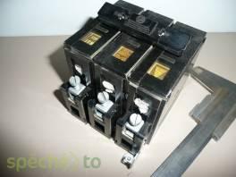 Třífázové a jednofázové elektrické chrániče, jističe