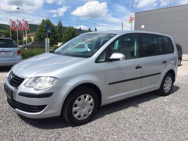 Volkswagen Touran 2.0 EcoFuel CNG KLIMA ESP Tažný, foto 1 Auto – moto , Automobily | spěcháto.cz - bazar, inzerce zdarma