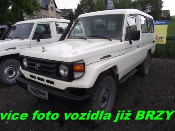 Toyota Land Cruiser 4,2 D * 78 * 4WD *  DPH *, foto 1 Auto – moto , Automobily | spěcháto.cz - bazar, inzerce zdarma