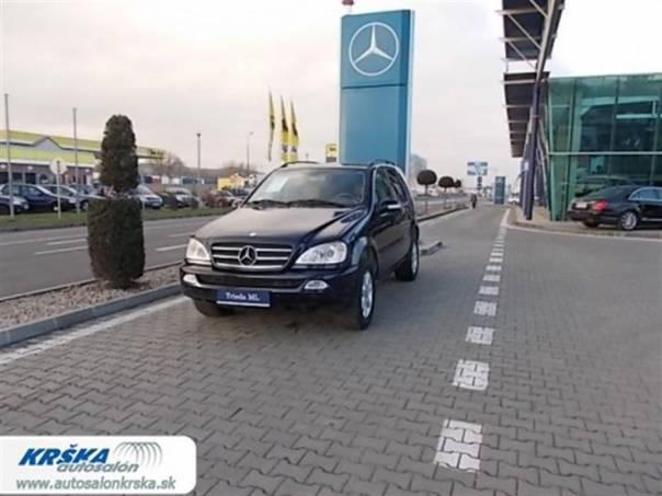Mercedes-Benz Třída M 2.7 CDi ML270 CDi 4-matic, foto 1 Auto – moto , Automobily   spěcháto.cz - bazar, inzerce zdarma