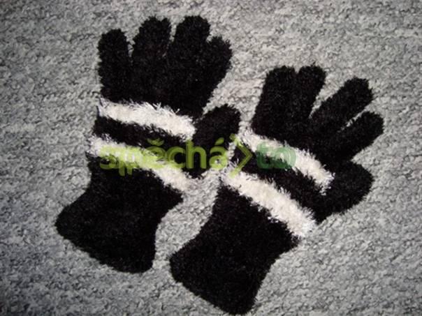 Dámské prstové rukavice jemné a heboučké, nové, foto 1 Modní doplňky, Čepice, čelenky, klobouky | spěcháto.cz - bazar, inzerce zdarma