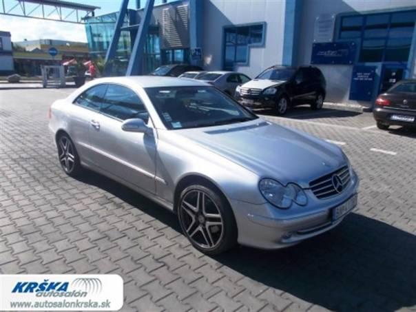 Mercedes-Benz Třída CLK 2.6i 240i, foto 1 Auto – moto , Automobily | spěcháto.cz - bazar, inzerce zdarma