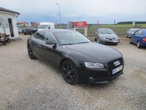 Audi A5 3,0TDi Quattro Sportback, foto 1 Auto – moto , Automobily | spěcháto.cz - bazar, inzerce zdarma