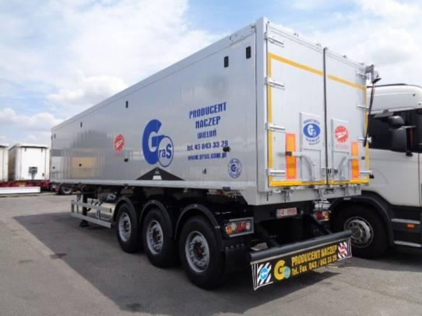 Gras  50m3, NOVÝ NÁVĚS, foto 1 Užitkové a nákladní vozy, Přívěsy a návěsy | spěcháto.cz - bazar, inzerce zdarma
