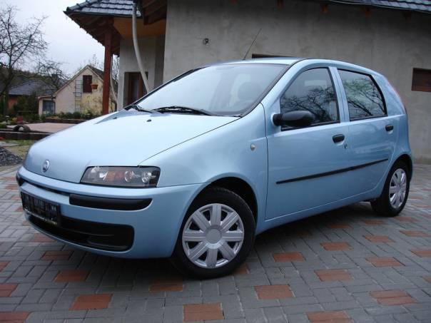 Fiat Punto 1.2i 5DVEŘ/rok 2003/KLIMA/EL.OKNA/SERVO CITY, foto 1 Auto – moto , Automobily | spěcháto.cz - bazar, inzerce zdarma