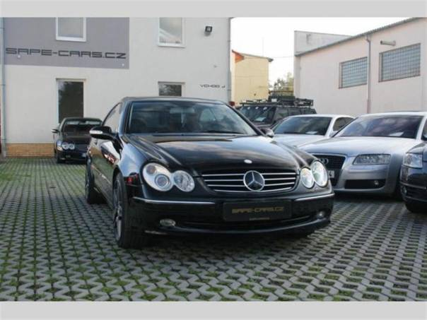 Mercedes-Benz Třída CLK 320 Aut. Avantgarde, ZÁRUKA, foto 1 Auto – moto , Automobily | spěcháto.cz - bazar, inzerce zdarma