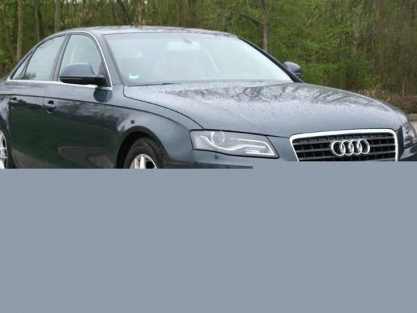 Audi A4 2.0TDi 105KW, 1.Maj.,Kůže, foto 1 Auto – moto , Automobily | spěcháto.cz - bazar, inzerce zdarma