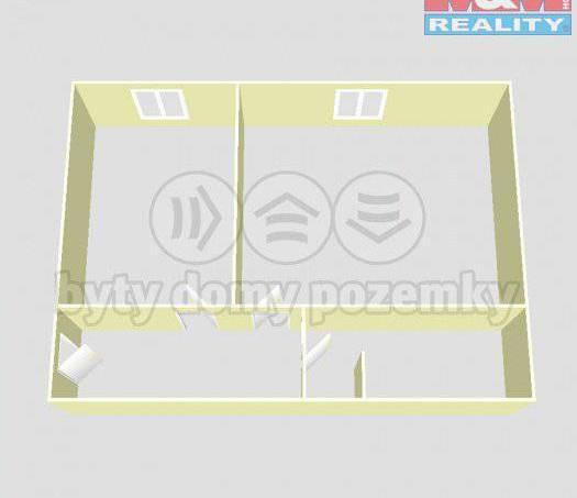 Prodej bytu 1+1, Měčín, foto 1 Reality, Byty na prodej | spěcháto.cz - bazar, inzerce