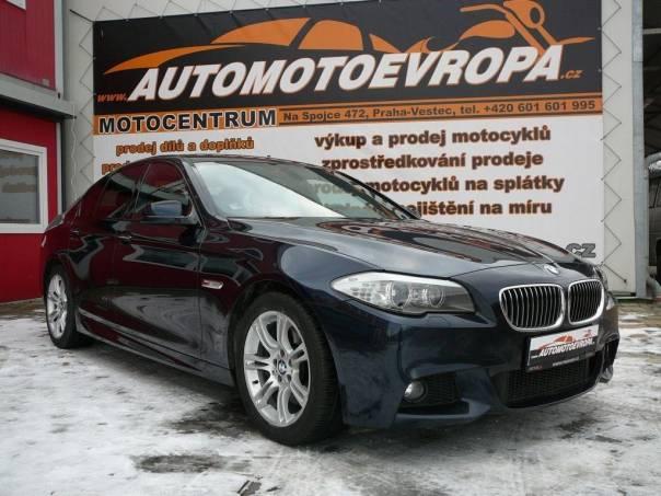 BMW Řada 5 535d M-packet, foto 1 Auto – moto , Automobily   spěcháto.cz - bazar, inzerce zdarma