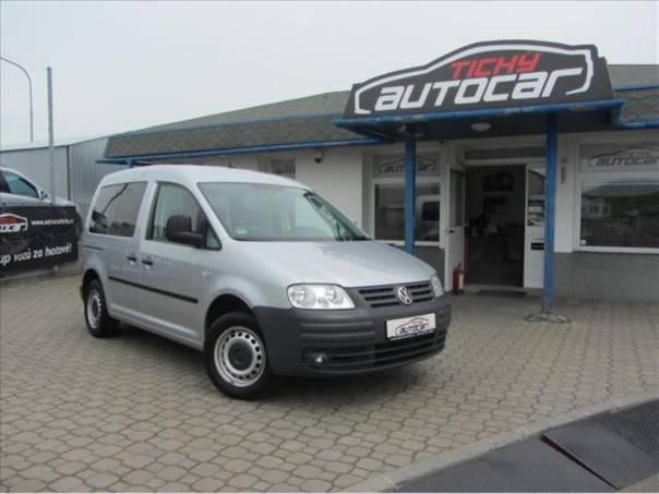 Volkswagen Caddy 2.0 CNG, Klima, Navi, serviska, foto 1 Auto – moto , Automobily | spěcháto.cz - bazar, inzerce zdarma