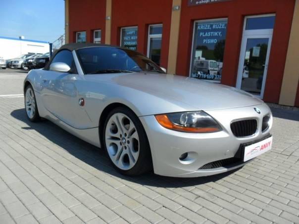 BMW Z4 2,5i KLIMA, KŮŽE, foto 1 Auto – moto , Automobily | spěcháto.cz - bazar, inzerce zdarma