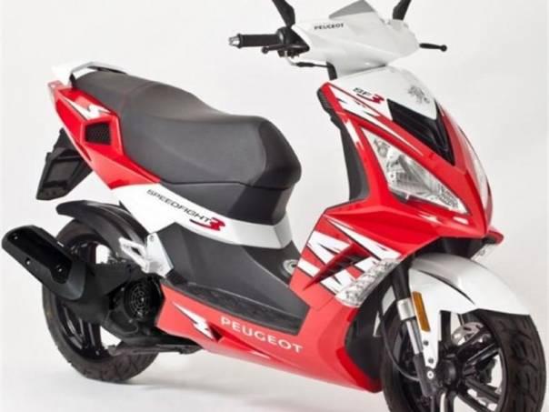Peugeot  Speedfight III 125, barva červená, foto 1 Auto – moto , Motocykly a čtyřkolky | spěcháto.cz - bazar, inzerce zdarma