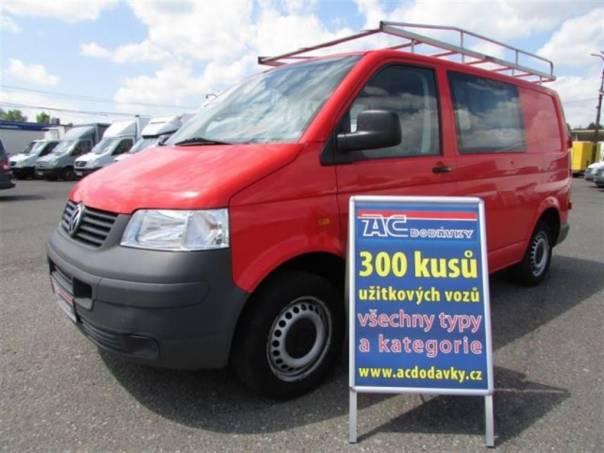Volkswagen Transporter 1.9TDI 5MÍST KLIMA, foto 1 Užitkové a nákladní vozy, Do 7,5 t | spěcháto.cz - bazar, inzerce zdarma