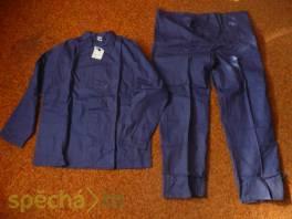Pracovní oděv montérky modráky , Pánské oděvy, Bundy, saka, kabáty  | spěcháto.cz - bazar, inzerce zdarma