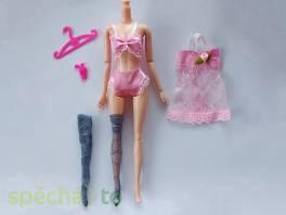 NOVÉ! Set pro panenku Barbie, růžový noční s punčochami , Pro děti, Hračky  | spěcháto.cz - bazar, inzerce zdarma