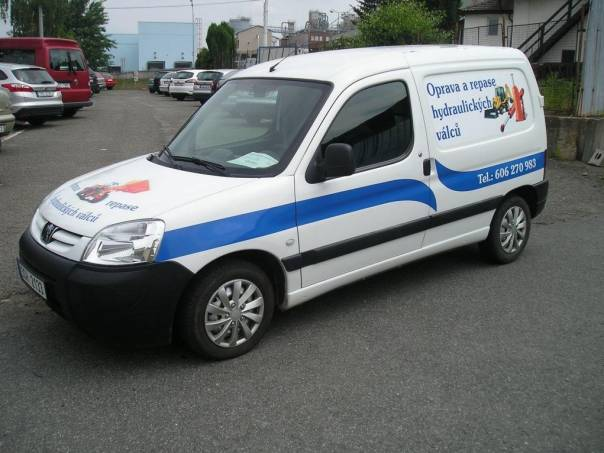 Peugeot Partner 1,9 D 51 kw, foto 1 Užitkové a nákladní vozy, Do 7,5 t | spěcháto.cz - bazar, inzerce zdarma